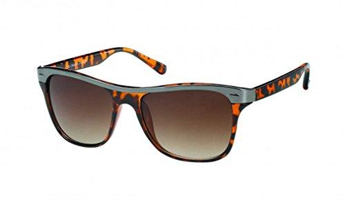 Chic Zebra Lunettes de soleil lunettes net nerd sombres teintés nuances UV 400 Wayfarer de vert eNEZH
