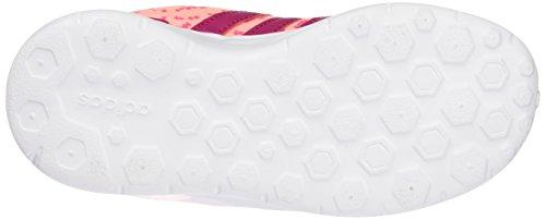 adidas Lite Racer K, Chaussures de sport mixte enfant Multicolore ( Rose / Fuchsia )