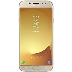 "Samsung Galaxy J5 2017 - Smartphone libre de 5.2"" HD (4 G, Bluetooth, Octa-Core de 16 GHz, memoria interna 16 GB, 2GB RAM, pantalla Super Amoled, cámara de 13 MP, Android 7.0) dorado"