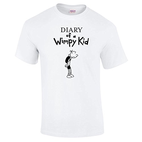 Indy Visuals Diary Of a Wimpy Kid World Book Day T-Shirt Outfit Costume Kids All Sizes