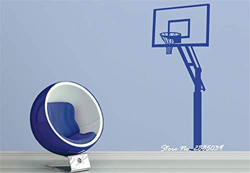 Basketball Hoop Vinyl Junge Zimmer Sofa Hintergrund Dekor Wohnzimmer Wohnkultur Kunst Sport Stickers42 * 107 cm ()