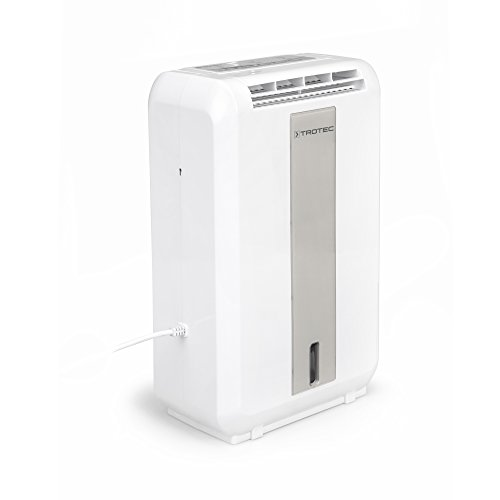TROTEC TTR 55 E, Deumidificatore ad adsorbimento, di 8.7 litri al giorno, per ambienti fino a 20 metri quadrati