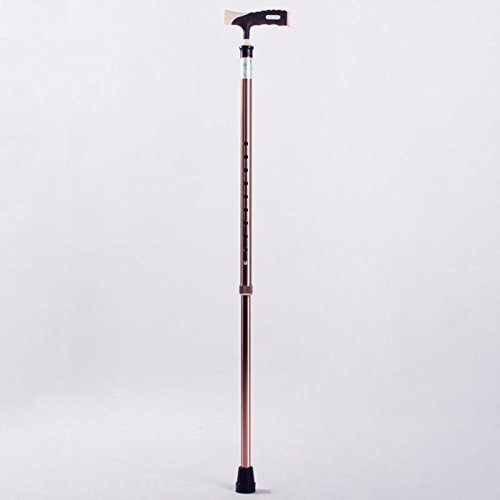 GAOMEI@Aluminium Teleskop-Single Stick für die älteren die ältere Stöcke-Walking-Stöcke, höhenverstellbare ein Geschenk Teleskop-stativ Hocker