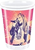 Cups Licensed Hannah Montana (Pack of 10) for Disposable Party Tableware
