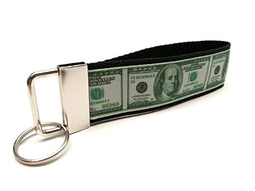 Schlüsselband - Australische Dollar in schwarz Schlüsselanhänger