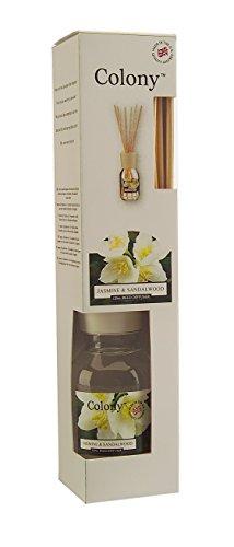 WAX LYRICAL Diffuseur & Ses Batonnets Parfumés 120ml - Jasmine & Sandalwood - Colony