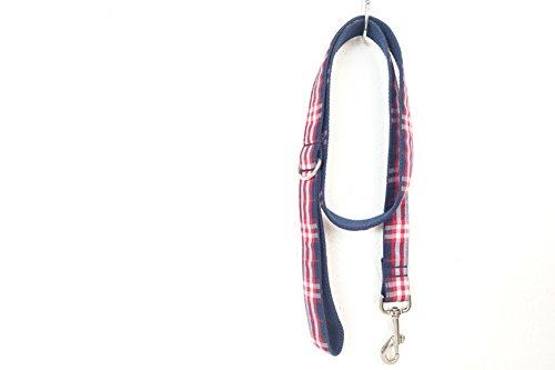 PENIVO Führungen für Hunde, Haustierfutter mit weichem und bequemem Griff, 110 cm x 2cm, passender Kragen und Leine separat erhältlich