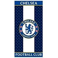 Serviette de plage drap de bain Chelsea FC | 100% coton | 70x 140cm | Bleu