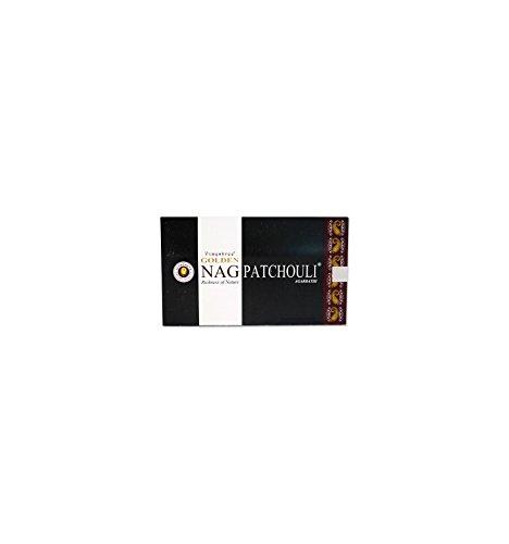 Golden Nag Patchouli Indische Räucherstäbchen 180g Box Grosspackung - Indische Patchouli