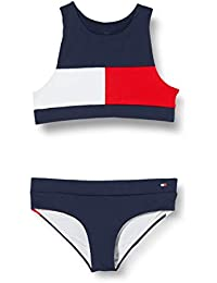 Tommy Hilfiger Crop Top Set Bikini para Niñas
