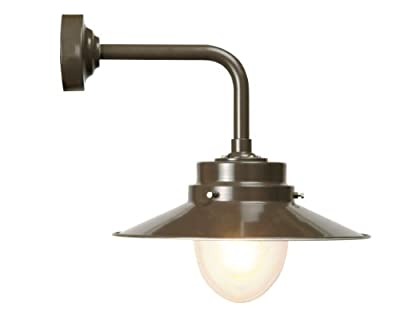 Garden Trading Belfast Wall Light in Coffee Bean - cheap UK wall light store.