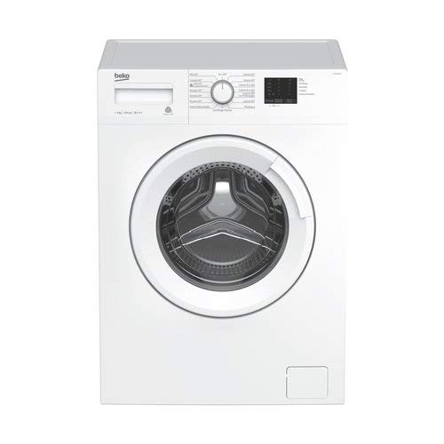 Beko wtx61031�W Freestanding Front-Load 6�kg 1000RPM A + + + White�-�Washing Machine (Freestanding, Front Loading, White, Rotary, Left, LED)