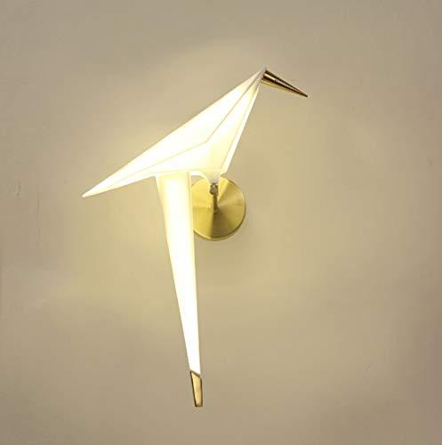 Wald Natürlichen Stil Nordic Einfache Postmoderne Kreative Persönlichkeit Wandleuchte Wohnatmosphäre Restaurant Korridor Wenig Vogel Tier Modellierung Wandleuchte Glaswandleuchte