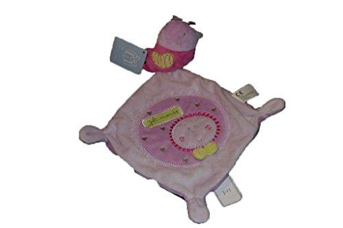 Kiabi–Doudou Nicotoy kitchoun Kiabi pájaro rosa...