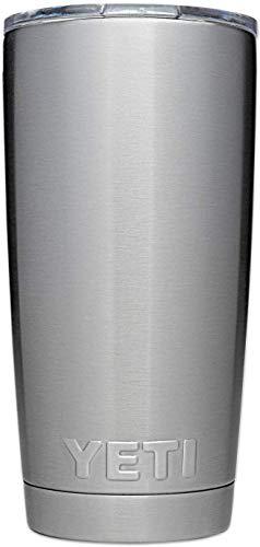 570 ml Flgoo Rambler Vakuumisolierter Trinkbecher mit Deckel f/ür Yeti