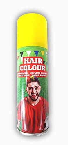 store Color Haarspray 125 ml | Haarfarben Fasching Karneval Halloween farbig gelb (Halloween Rotes Haarspray)