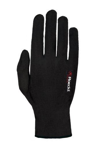 Roeckl Kalamaris Winter Unterziehhandschuh / Handschuhe schwarz: Größe: M (8)