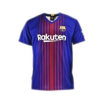 Camiseta 1ª Equipación Replica Oficial FC BARCELONA 2017-2018 Dorsal MESSI  - Tallaje ADULTO ( fcd1c517266