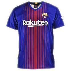 Camiseta 1ª Equipación Replica Oficial FC BARCELONA 2017-2018 Dorsal MESSI - Tallaje ADULTO (L)