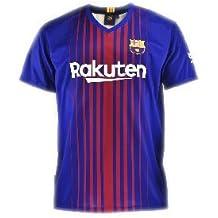 Camiseta 1ª Equipación Replica Oficial FC BARCELONA 2017-2018 Dorsal MESSI - Tallaje ...