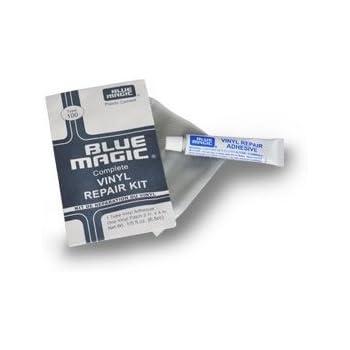 blue magic kit de r paration pvc avec colle et rustine pour lit eau piscine pateaugeoire. Black Bedroom Furniture Sets. Home Design Ideas