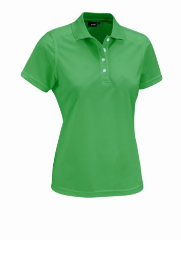 Grün Damen Polos (MAIER SPORTS Damen Polo Ulrike T-shirt,Grün (kelly green), Gr. 46)