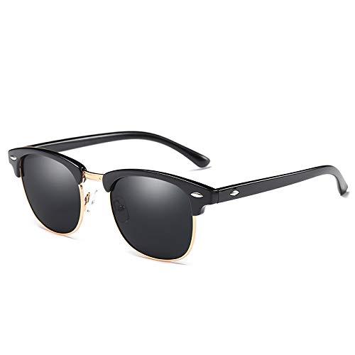 DTYZGE Damen Sonnenbrille Polarisierte Semi-Randlose Sonnenbrille Frauen/MännerBrillenSonnenbrillen