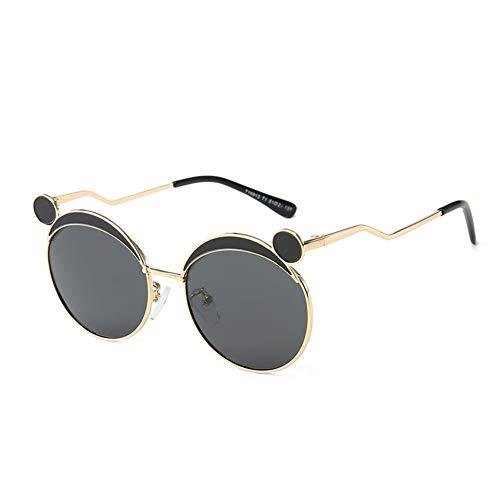 Sonnenbrille unregelmäßige hochwertige Sonnenbrille mit unregelmäßigem Metallrahmen, geeignet für Reisen, Autofahren, Radfahren und das Tragen von Reiseutensilien