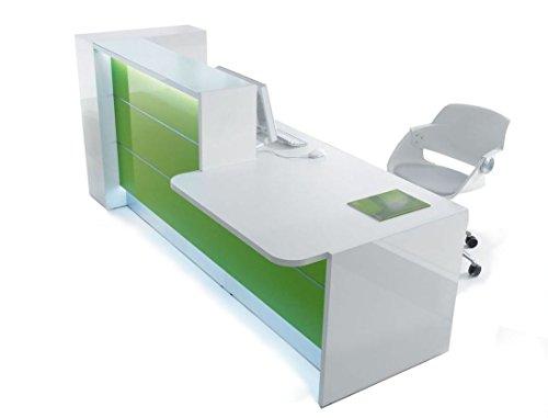 Empfangstheke TRESSA mit LED Beleuchtung, in verschiedenen Farben erhältlich, Rezeption,...