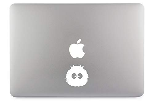 Zottel Stachel Monster Apple MacBook Air Pro Aufkleber Skin Decal Sticker Vinyl (13