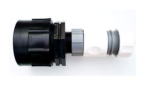 Farm & Field Hardware Résistant Ibc Adaptateur (S60X6 Grossier Fil) à 3/4 Encliquetable Tuyau Connecteur C/W 3/4 Femme Raccord Tuyau