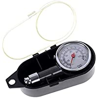 Balight - Medidor Digital de presión de neumáticos de Coche, Herramienta de Seguridad para Coche, B