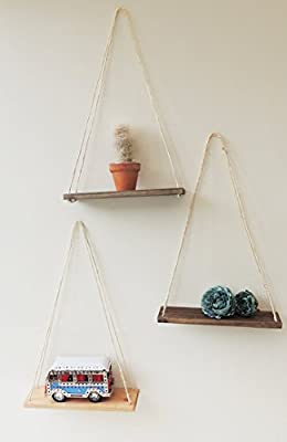 floating wall shelf, swing shelves, nursery decor, set of shelves, minimalist decor, fun book shelf, hanging shelves, wooden shelf, display