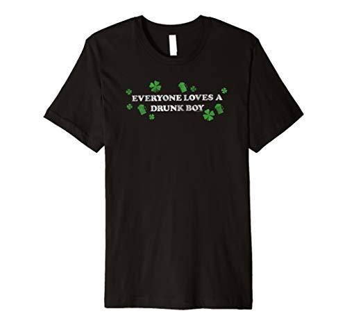 Ripple Junction Everyone loves a drunk boy (Love Irish Boys-t-shirts)