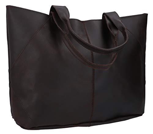 Gusti Handtasche Leder - Cecilia Shopper Ledertasche Braun