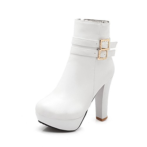 agoolar-womens-high-heels-solid-round-closed-toe-soft-material-zipper-boots-white-43