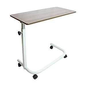NRS Healthcare Höhe verstellbar über Bett Tisch–Dunkelbraun