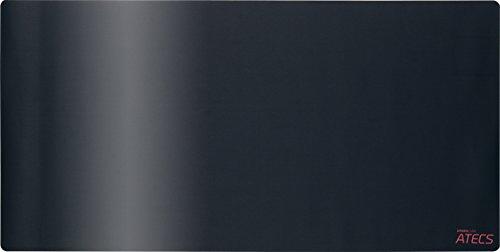Speedlink Gamer Mauspad für PC / Computer - Atecs Soft Gaming Mousepad XXL (glatte Textil-Oberfläche für minimalen Widerstand - Pro-Gamer-Form - Rutschfeste Unterseite) Maus Pad Maße: 1000 x 500 x 3mm (B x T x H) schwarz