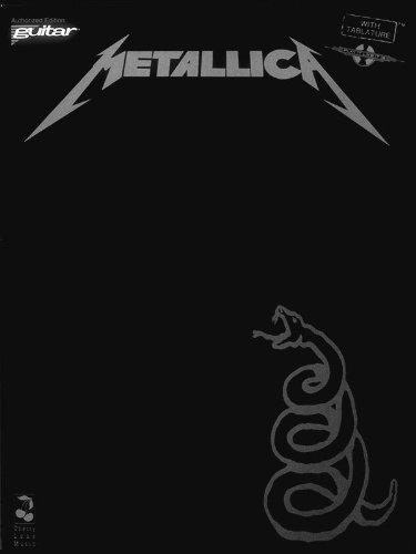 Metallica-Schwarz-Gitarre Persönlichkeit Schwarz Navigation