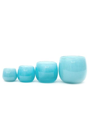 Dutz Collection Vase Pot Farbe Aqua, Größe:H18 / -