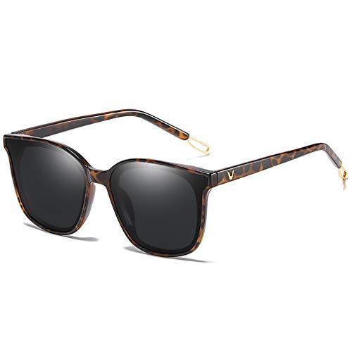 LQ Herrenbrille Versace Polarisierte Fahrer-Nachtsichtbrille, Aluminium-Magnesium-Herrensonnenbrille, hochauflösende polarisierte Sonnenbrille (Farbe : B)