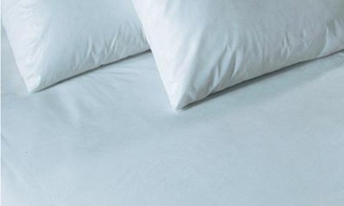 Homescapes Hypoallergenic, Dust Mite and Waterproof Mattress Protector, Synthetic, White, Double