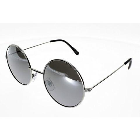 Suolo AD 5253 metallo, colore: argento/specchio in stile John Lennon misto Indice 3