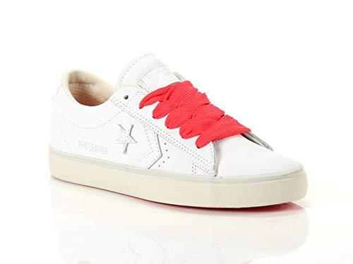9e129f54ac Converse Lifestyle Pro Leather Vulc Ox, Sneakers Basses Femme, Multicolore  White/Turtledove 102