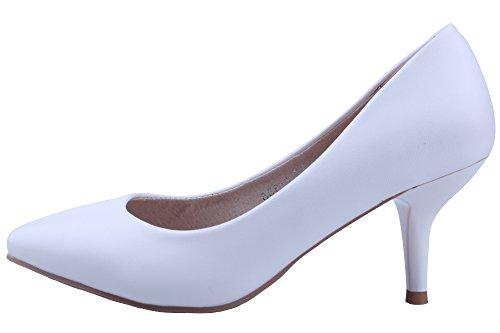 XTIAN - Scarpe con Tacco Donna Bianco