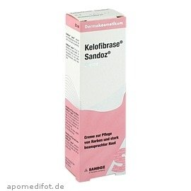 Kelofibrase Sandoz, 25 g Creme