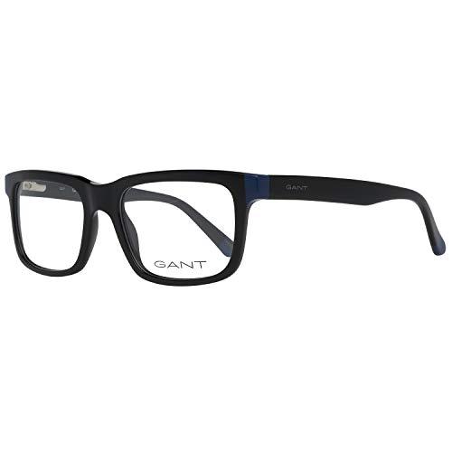 GANT Herren Brillengestelle Brille Ga3158 001 52, Schwarz