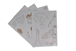 Paladone- Princesas Disney Pegatinas para portátil (PP3507DP)