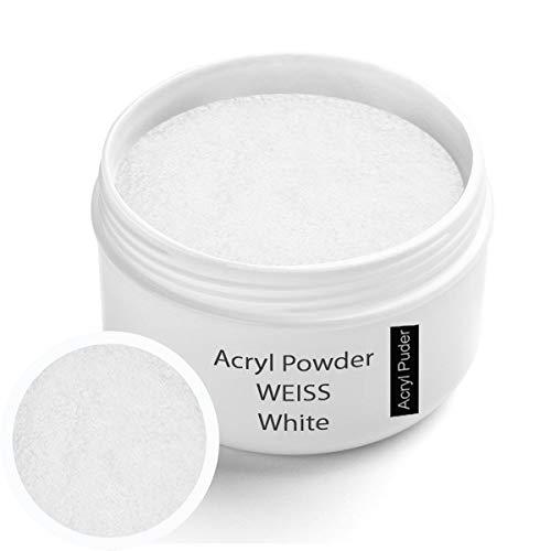 Polvere di acrilico bianca 30g