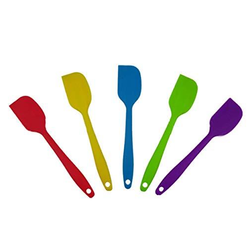 LoveOlvidoD Hitzebeständige Silikon-Spatel-Kuchen-Creme-Butterschaber-Backschaber-Werkzeug-Küche, die Gerät- und Backgeräte-Werkzeug kocht